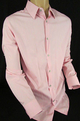 Banana Republic Men Pink Button Down Dress Shirt Long Sleeves Classic Large - alwaystyle4you - 3