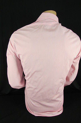 Banana Republic Men Pink Button Down Dress Shirt Long Sleeves Classic Large - alwaystyle4you - 10