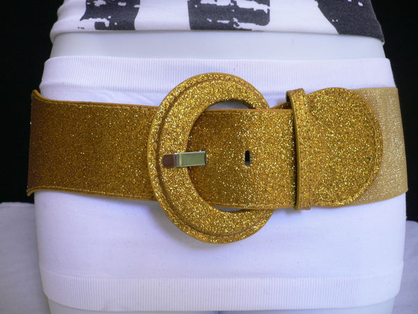 Gray / Dark Gray / Black / Gold / Brown / Brown Bronze / Red Elastic Hip Waist Sparkling Belt New Women Fashion Accessories XS To XL - alwaystyle4you - 22