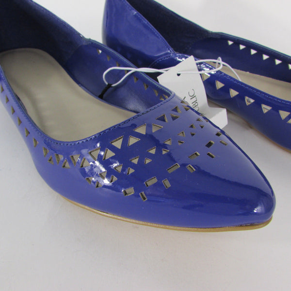 Banana Republic Blue Pumps Flats Ballet Shoes Size 8 New Women Summer Accessories