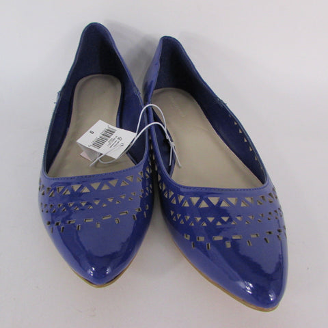 Banana Republic Blue Pumps Flats Ballet Shoes Size 7.5 8 10 New Women Summer Fashion Accessories
