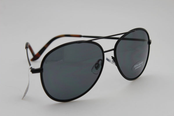 Black Metal Frame Aviator Lens Banana Republic Sunglasses 100%UVA New Women Men Fashion Accessories
