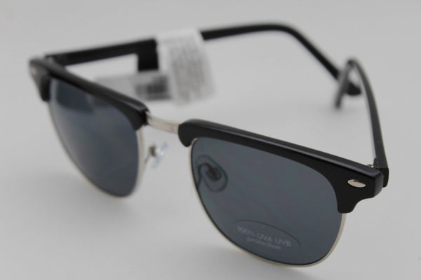 Black Silver Frame Banana Republic Sunglasses 100%UVA Lens New Women Men Fashion Accessories