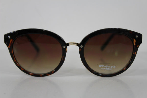 Brown Frame Dark Black Lens BR Sexy Banana Republic Sunglasses New Women Fashion Accessories