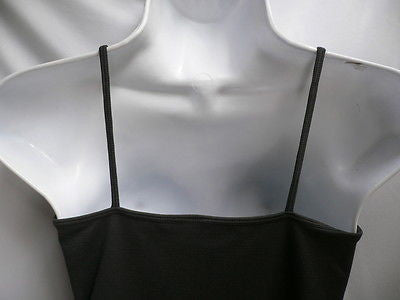 New Women Charcoal Basic Tank Top Sexy Camisole Spaghetti Straps Plus Size Medium Large - alwaystyle4you - 10