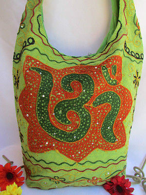 New Women Cross Body Fabric Fashion Messenger Hand India Sign Green Orange Brown - alwaystyle4you - 49
