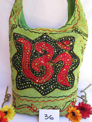 New Women Cross Body Fabric Fashion Messenger Hand India Sign Green Orange Brown - alwaystyle4you - 25