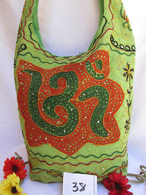 New Women Cross Body Fabric Fashion Messenger Hand India Sign Green Orange Brown - alwaystyle4you - 47