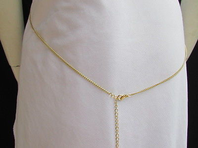 Women Full Body Chain Jewelry Long Necklace Paris Style Gold Metal Lion Head Thin - alwaystyle4you - 6