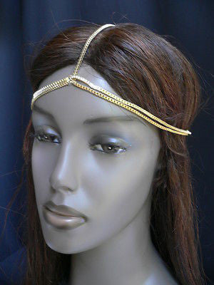 New Women Classic Gold Head Body Thin Chain Fashion Jewelry Grecian Circlet - alwaystyle4you - 7