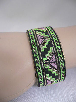 Gold Metal Cuff African Drawing Bracelet Green Color Adjustable New Women Fashion Jewelry Accessories - alwaystyle4you - 6