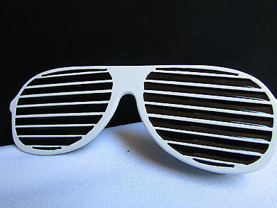 New Men / Women Fashion White And Black Trendy Long Sunglass Big Metal Belt Buckle - alwaystyle4you - 5