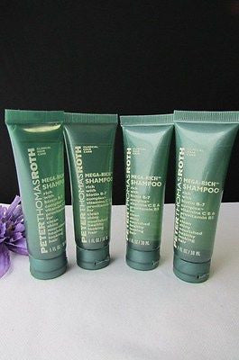 New Peter Thomas Roth Travel Size 4Pcs Shampoo /3Pcs Body Lotion /2Pcs Soap Bar - alwaystyle4you - 4