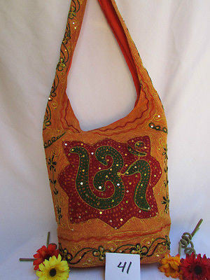 New Women Cross Body Fabric Fashion Messenger Hand India Sign Green Orange Brown - alwaystyle4you - 75