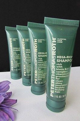 New Peter Thomas Roth Travel Size 4Pcs Shampoo /3Pcs Body Lotion /2Pcs Soap Bar