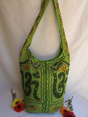 New Women Cross Body Fabric Fashion Messenger Hand India Sign Green Orange Brown - alwaystyle4you - 31