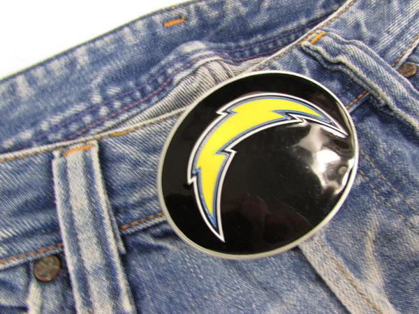 New Men Women Belt Fashion Metal Buckle San Diego Chargers Logo Oval Sports - alwaystyle4you - 6
