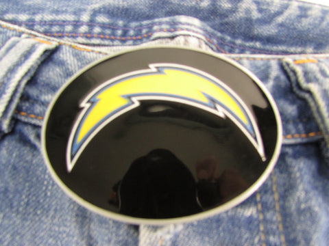 New Men Women Belt Fashion Metal Buckle San Diego Chargers Logo Oval Sports - alwaystyle4you - 1