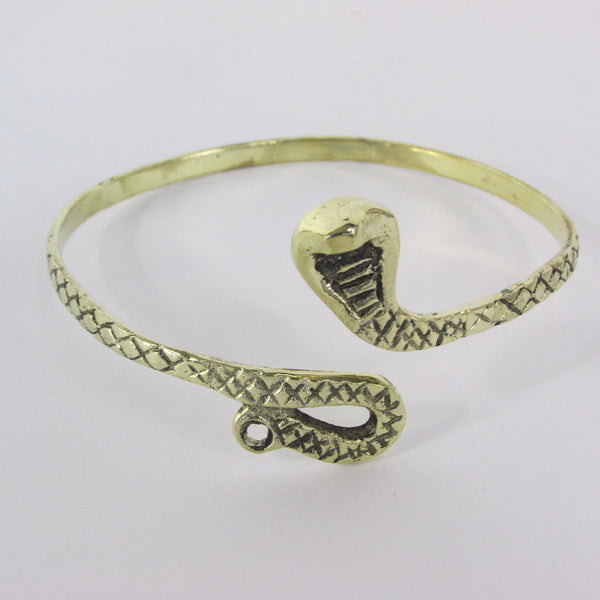 Cobra Snake Gold / Silver Metal Bracelet High Arm Cuff Chain New Women  Fashion - alwaystyle4you - 20