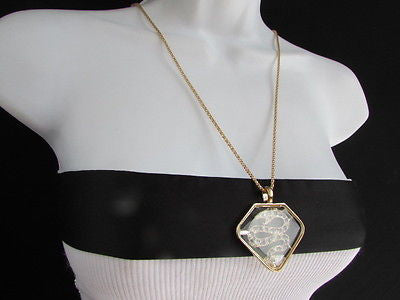 Women Gold Metal Chains Fashion Necklace Big Snake Pendant Silver Rhinestones - alwaystyle4you - 6