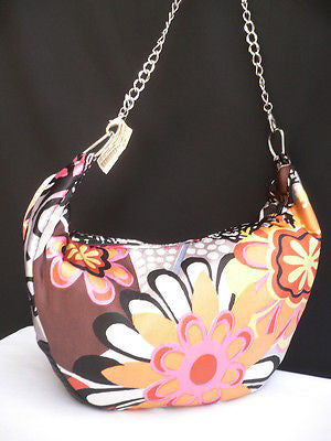 New Women Spring Summer Flowers Beach Bag Pink Orange Red Handbag Handmade - alwaystyle4you - 7