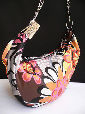 New Women Spring Summer Flowers Beach Bag Pink Orange Red Handbag Handmade - alwaystyle4you - 5
