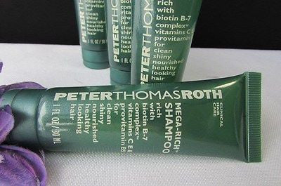 New Peter Thomas Roth Travel Size 4Pcs Shampoo /3Pcs Body Lotion /2Pcs Soap Bar - alwaystyle4you - 11