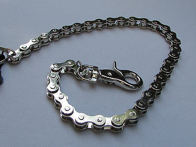 "Silver Metal Extra Long Wallet Chains Key Chain Motorcycle Biker Rocker 20"" New Men Style - alwaystyle4you - 5"