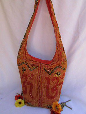 New Women Cross Body Fabric Fashion Messenger Hand India Sign Green Orange Brown - alwaystyle4you - 77