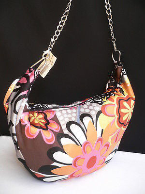 New Women Spring Summer Flowers Beach Bag Pink Orange Red Handbag Handmade - alwaystyle4you - 8