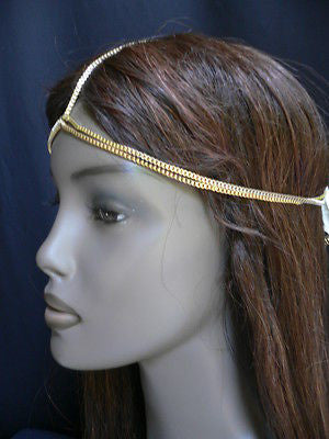 New Women Classic Gold Head Body Thin Chain Fashion Jewelry Grecian Circlet - alwaystyle4you - 5