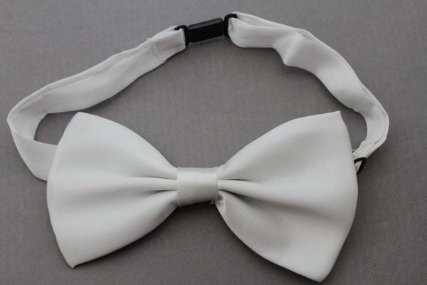 White Fabric Neck Bow Tie Tuxedo Costume New Men Women Teens And Kids Fashion Accessories