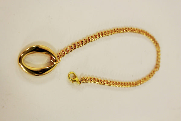 Gold Metal Boot Chain Bracelet Anklet Link 0 O Shoe Charm New Hot Women Fashion Jewelry - alwaystyle4you - 6