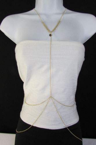 Gold Metal Body Chain Classic Style Thin Hot Necklace New Women Fashion Jewelry Accessories