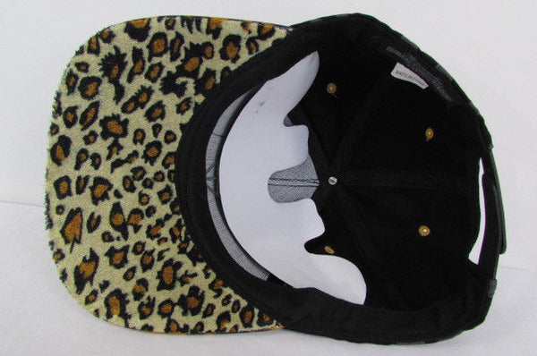Black Brown New Women Men Baseball Cap Fashion Hat LEOPARD Print - alwaystyle4you - 15