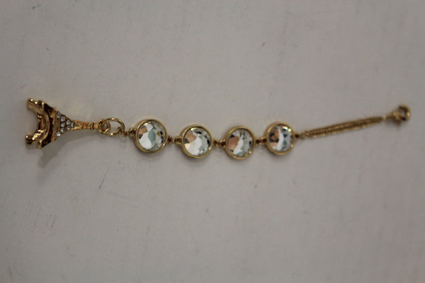 Gold Eiffel Tower Back Pendant Necklace Metal Chains New Women Fashion Jewelry - alwaystyle4you - 10