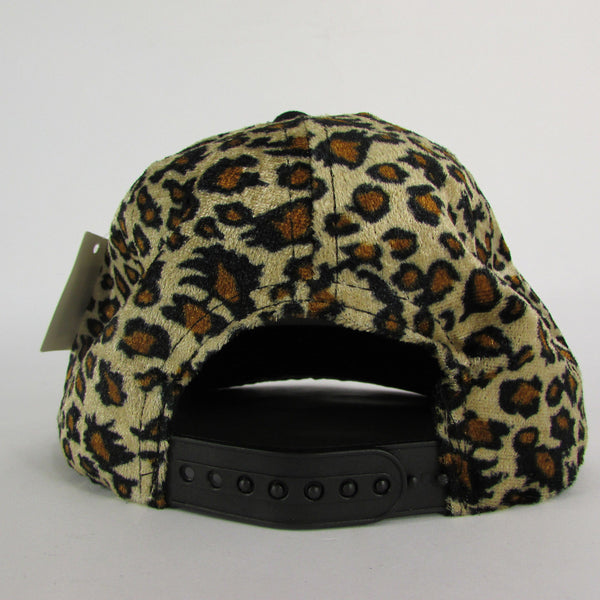 Gold Black / White Black New Women / Men Denim Black Baseball Cap Fashion BOSS Hat Animal Print Leopard - alwaystyle4you - 12