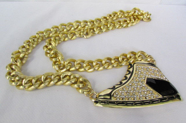 Long Gold Necklace Basketball Sneaker Tennis Shoe Pendant Hip Pop New Men Design - alwaystyle4you - 2