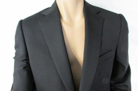 Black Classic Long Suit Jacket Trendy Ermenegildo Zegna Fashion Large 52L $1950