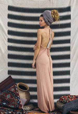 Kai Dress || Dusty Pink