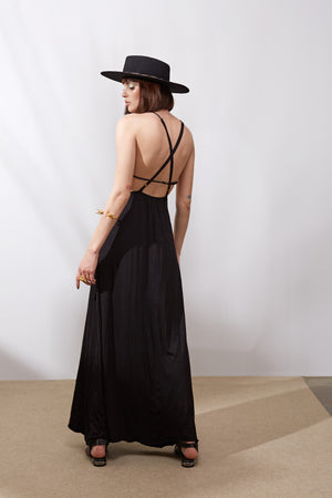 Sun Gazing Dress || Black
