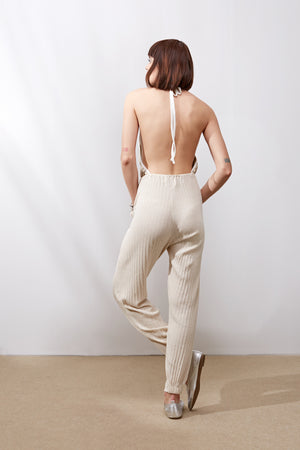 Foxberry Jumpsuit || Cream