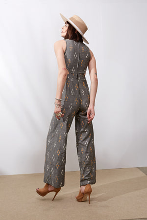 Rubi Jumpsuit || Grey
