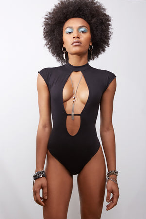 Coco Bodysuit || Black