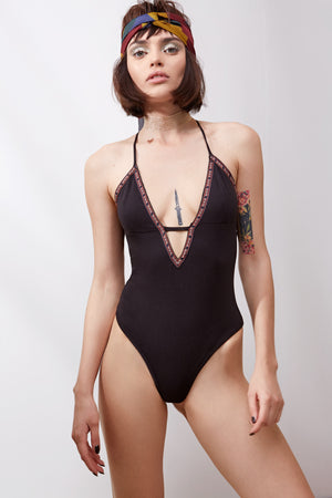 Lilo Bodysuit || Black