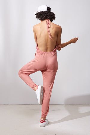 Foxberry Jumpsuit || Pink
