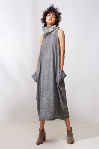 Elija Dress || Grey