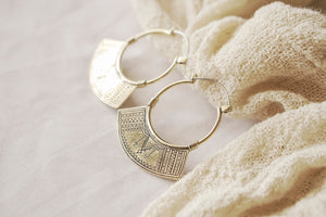 Semiya Hoop Earrings