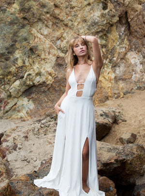 Sun Gazing Dress || White