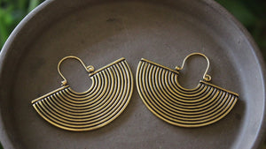 Magali Reflection Hoop Earrings